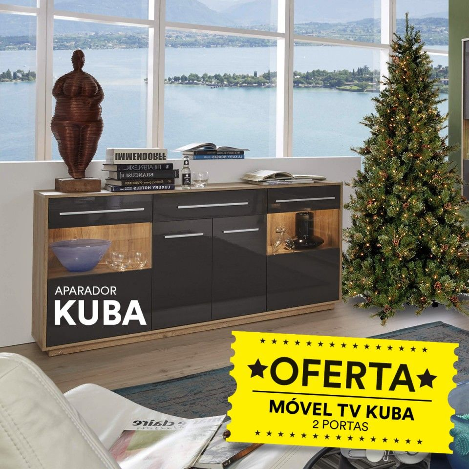 Aparador Kuba com Oferta Móvel TV