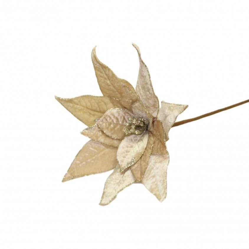 Flor Artificial Poinsétia