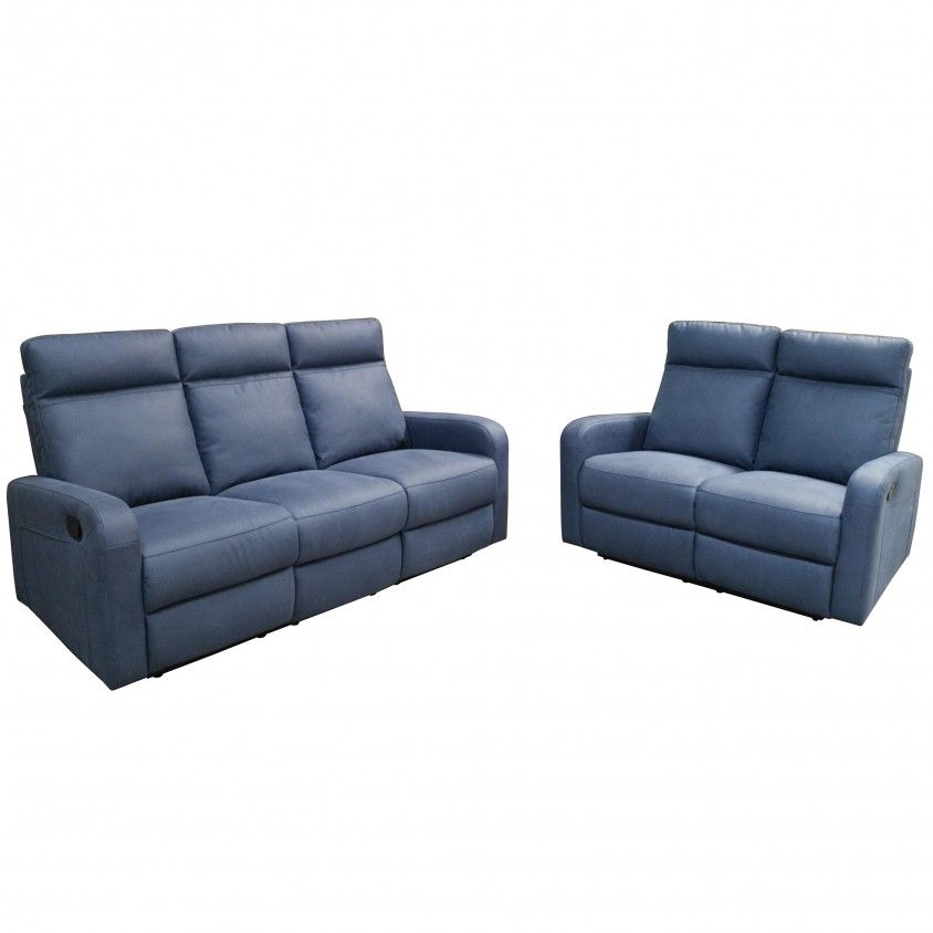 Set Sofas 3+2 Lugares Memphis