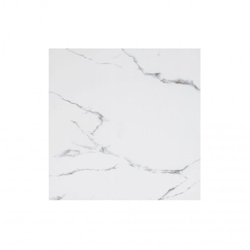 Porcelânico Polido Carrara 80x80
