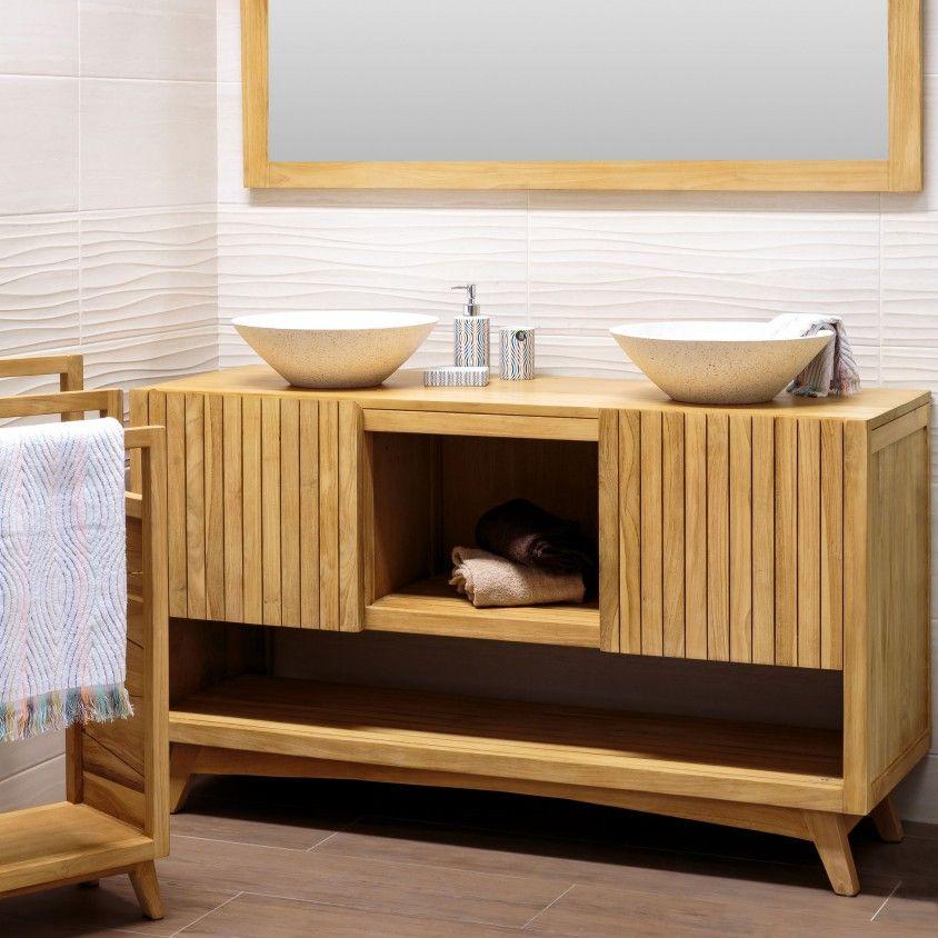 Móvel de Casa de Banho com 2 Lavatórios Ritan