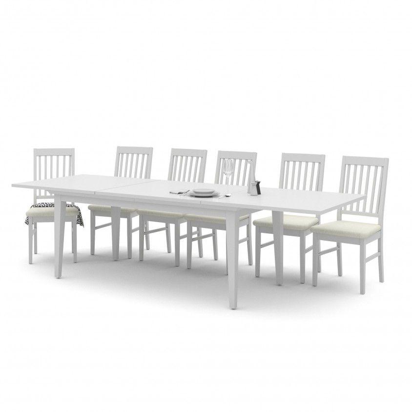 Mesa Paris com 6 Cadeiras