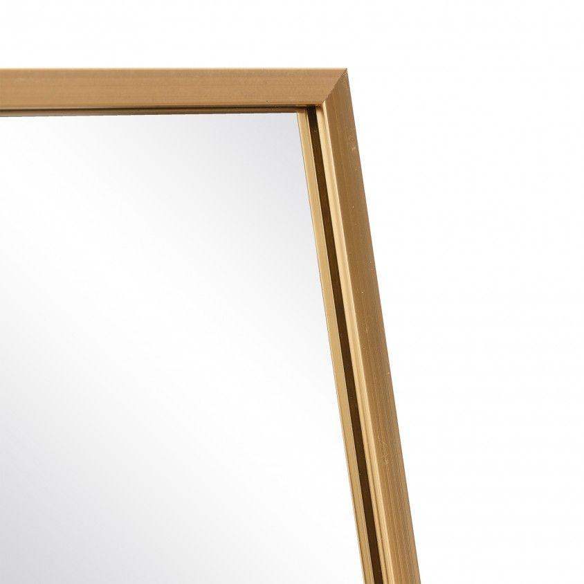 Espelho de Pé Ouro
