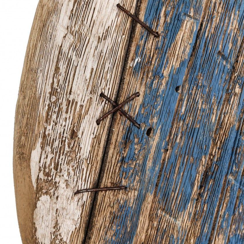 Mural Peixe Madeira Azul