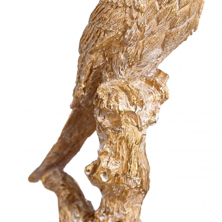 Figura Papagaio Poliresina