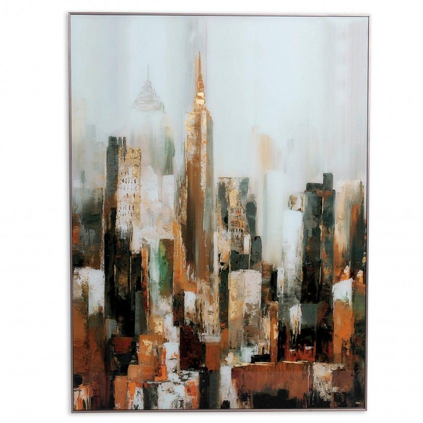 Quadro Abstrato Vidro III