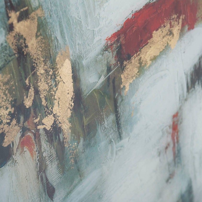 Quadro Abstrato Vidro II