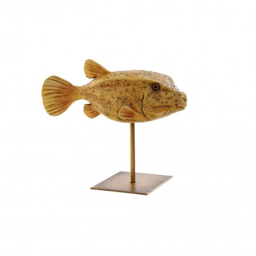 Figura Decorativa Peixe Balão