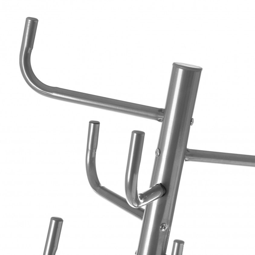 Cabide de Pé 8 Braços Metal