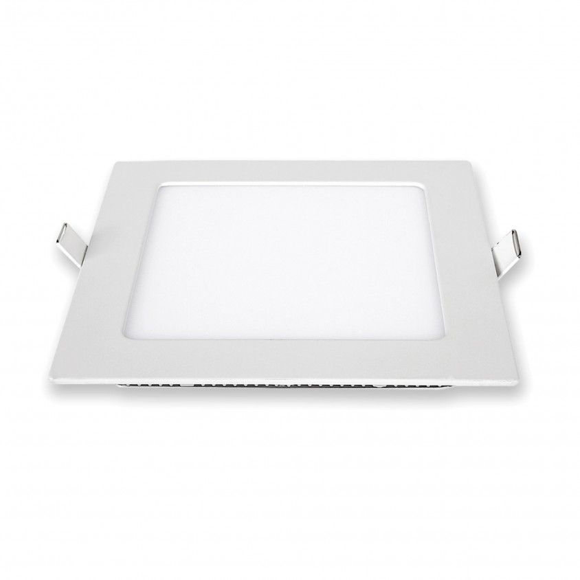 Downlight LED de Encastrar Quadrado 12W 6000K