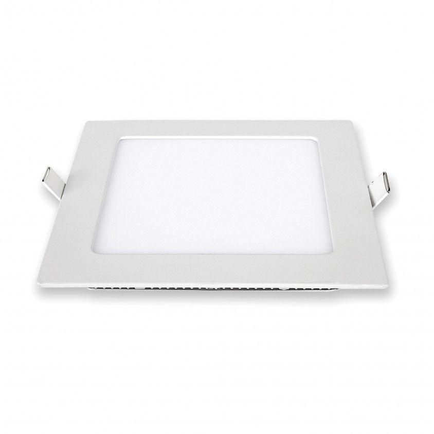 Downlight LED de Encastrar Quadrado 12W 6000K