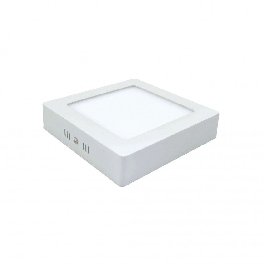 Downlight LED Saliente Quadrado 12W 6000K
