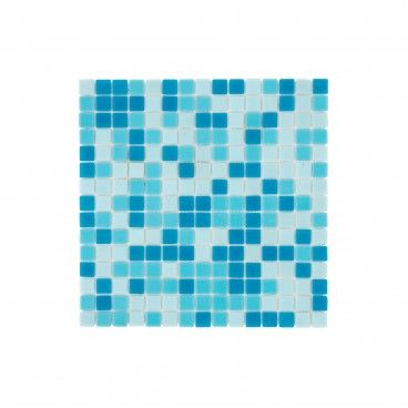 Pastilha Vidro Azul Claro/Escuro 32.7x32.7