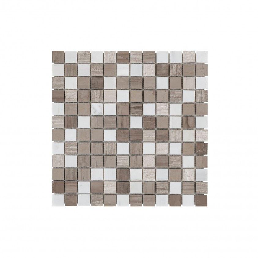 Pastilha Pedra Natural Cinza Claro 30x30
