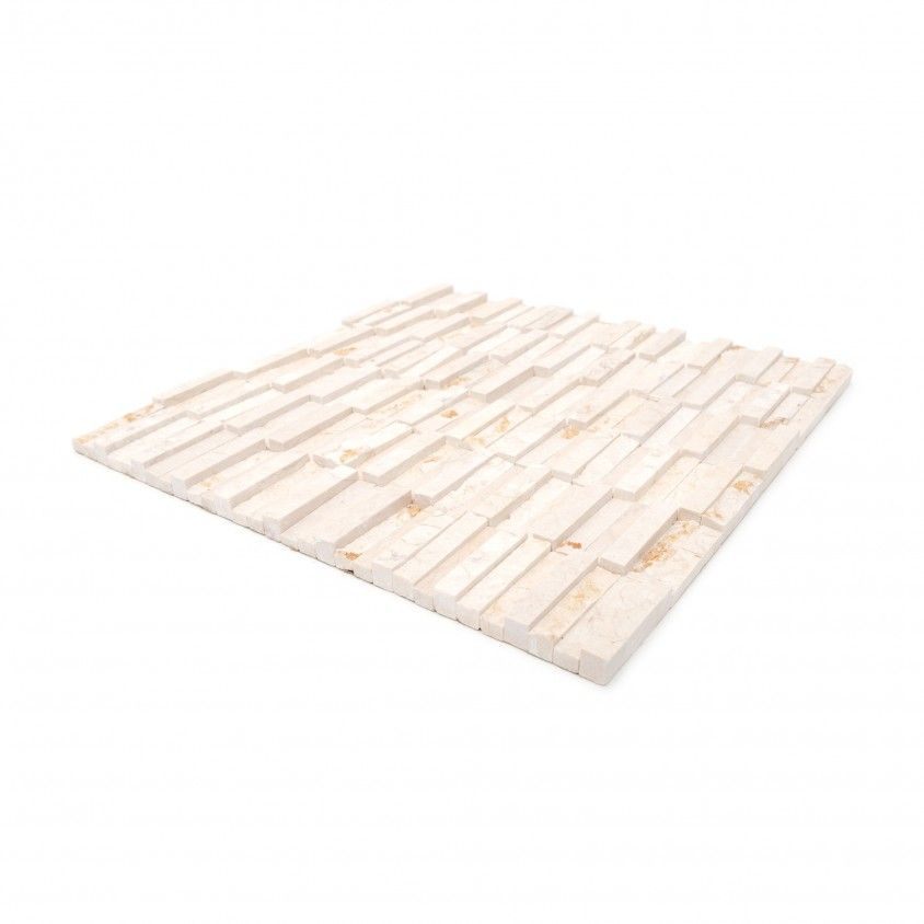 Pastilha Pedra Natural Bege Claro 30x30