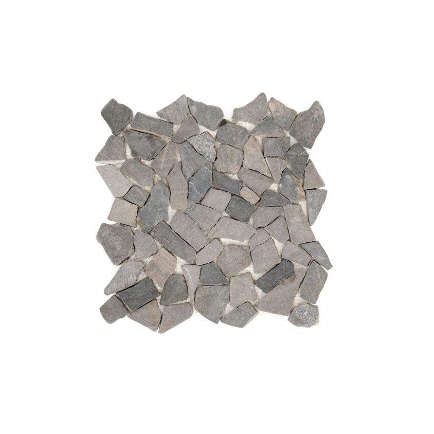 Mosaico Mármore Irregular 30x30 Cinza