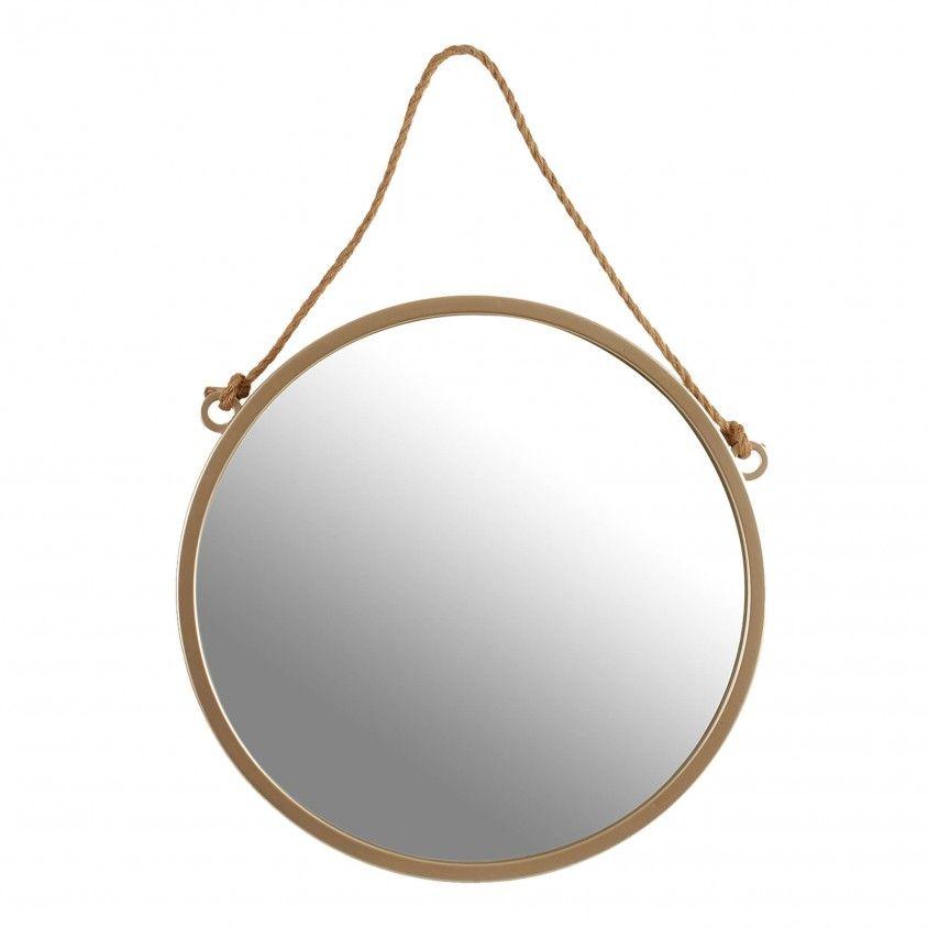 Espelho Redondo com Corda
