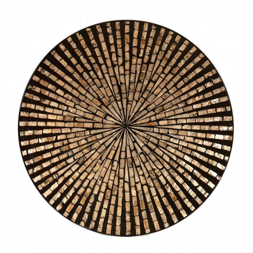 Prato Redondo Chic Mosaico