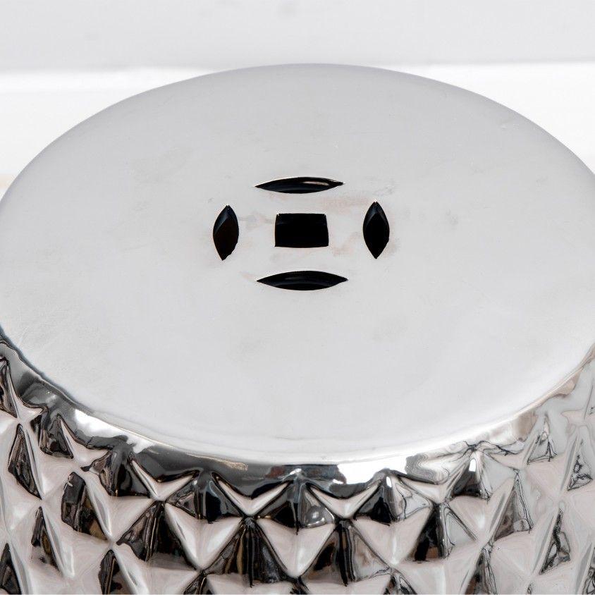 Tamborete/Mesa Auxiliar Silver