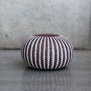 Pouf Mumbai Stripes