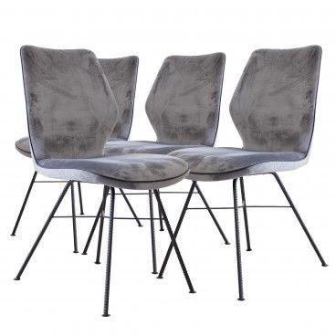 Conjunto 4 Cadeiras Parma