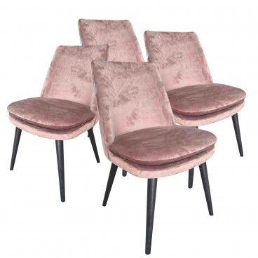 Conjunto 4 Cadeiras Ferrara