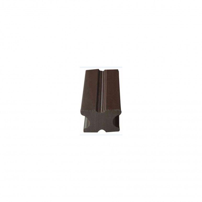 Sarrafo para Deck Compósito 220x4x2.5cm