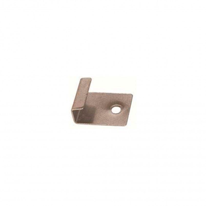 Clip Inicial/Terminal Inox para Deck 100un