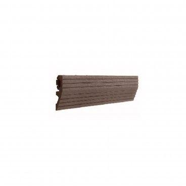 Perfil de Transição para Deck Compósito 30x7.5x2.2cm