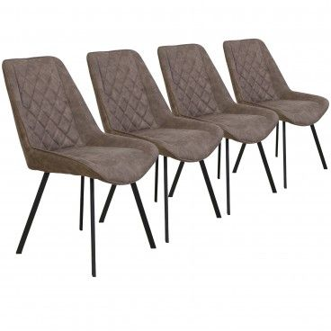 Conjunto 4 Cadeiras Pisa