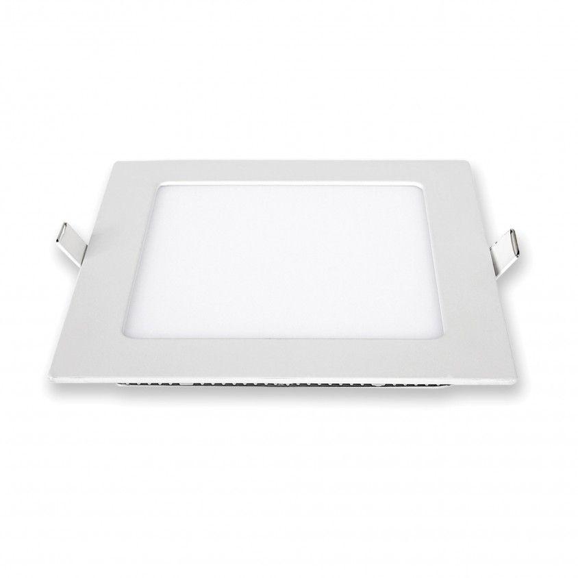 Downlight LED de Encastrar Quadrado 6W 6000K