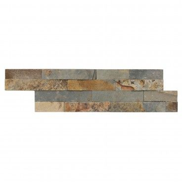 Pedra Natural Multicolor 15x55