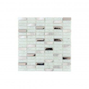 Pastilha Vidro/Aluminio 30.5x30