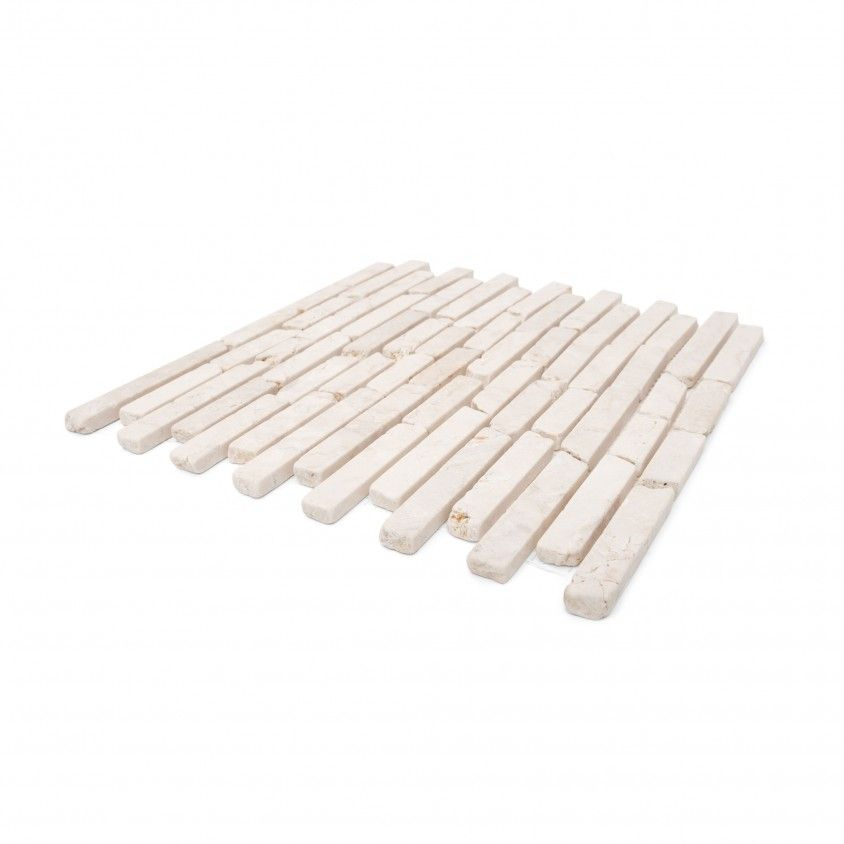 Pastilha Mármore Branco 30x30