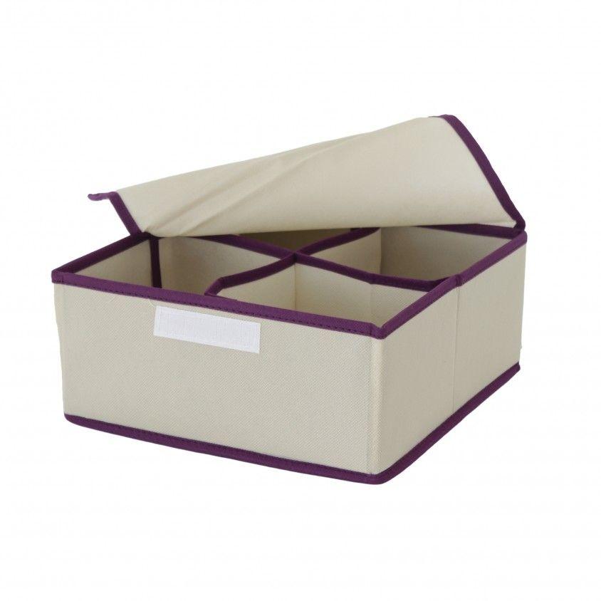 Caixa de Arrumação Motif com Divisórias