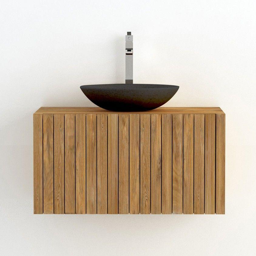 Móvel de Casa de Banho Suspenso com Lavatório Ritan