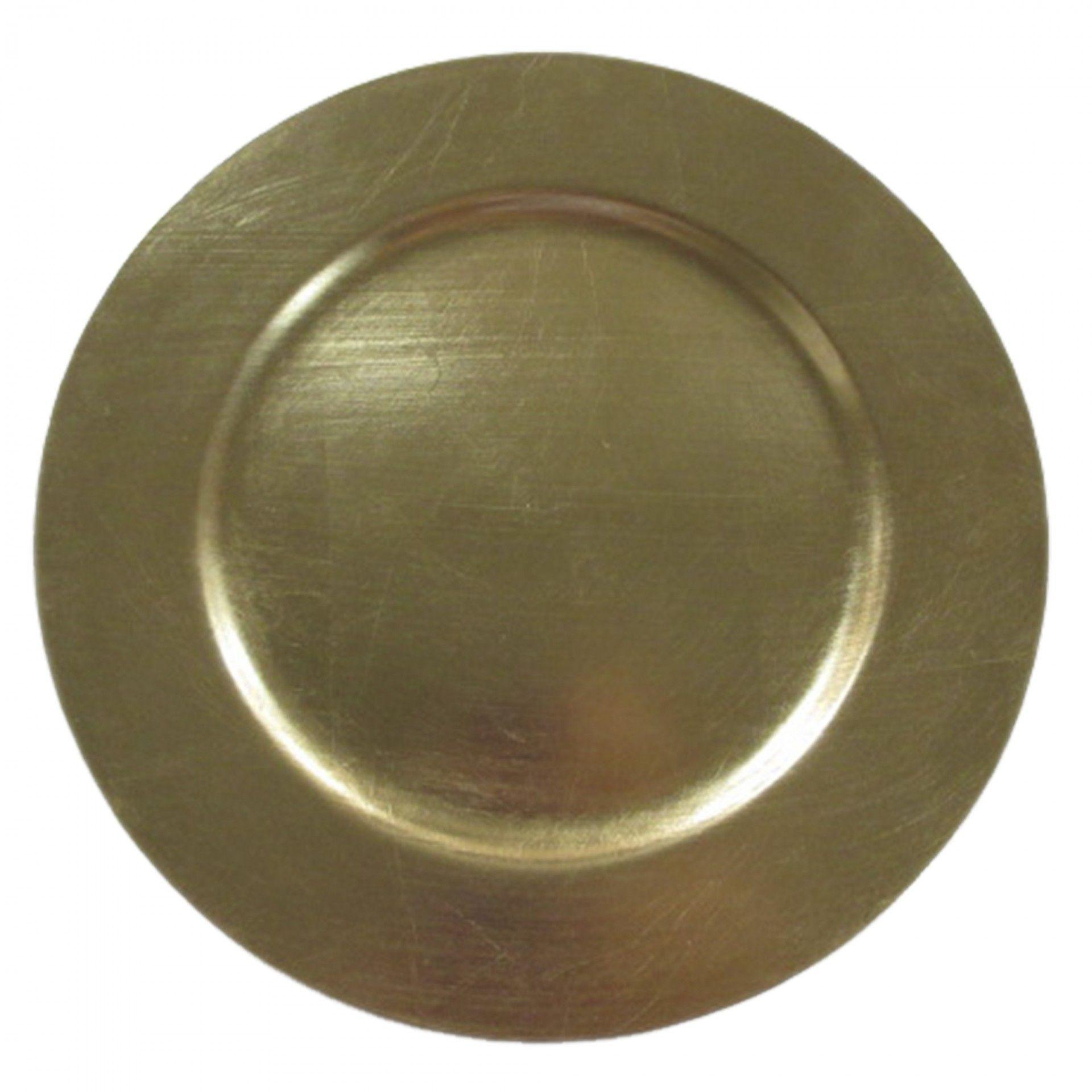 Prato marcador dourado | Moviflor