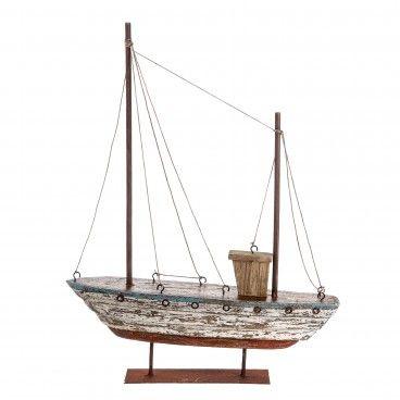 Figura Navio Madeira