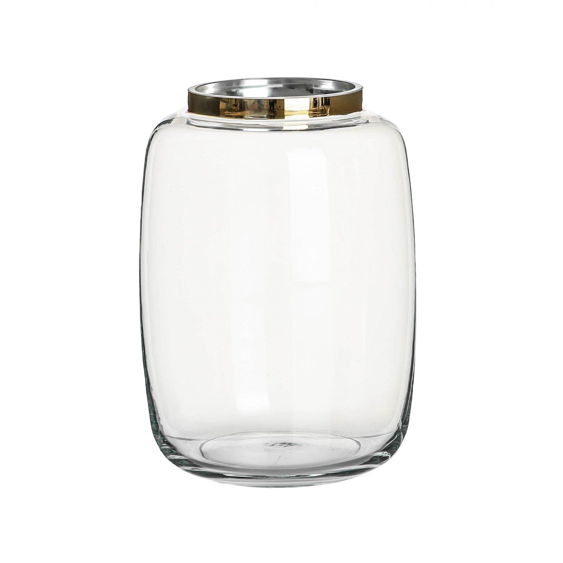 Jarrão elegance em vidro | Moviflor