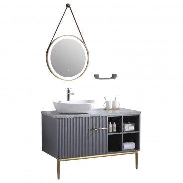 Conjunto Móvel WC com Espelho Melbourne
