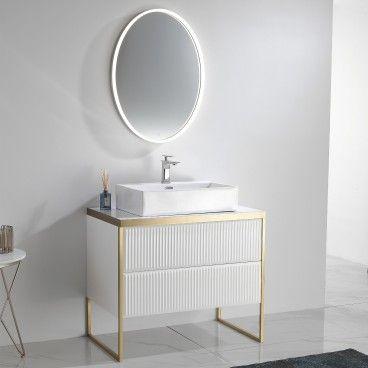 Conjunto Móvel WC com Espelho Perth