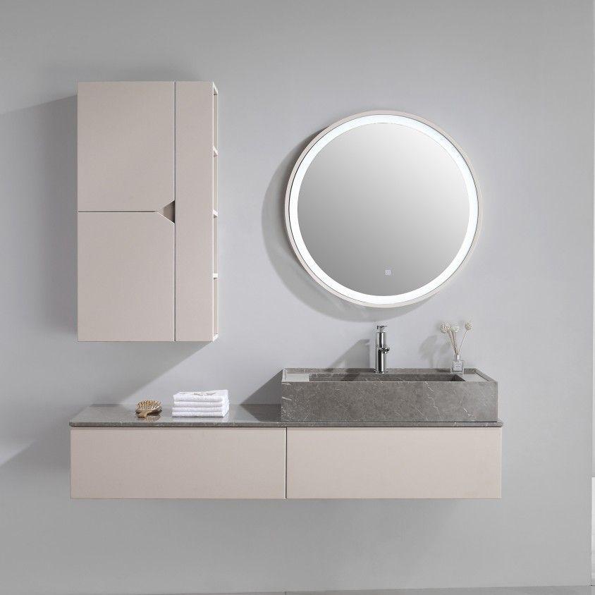 Conjunto Móvel WC com Espelho Albany