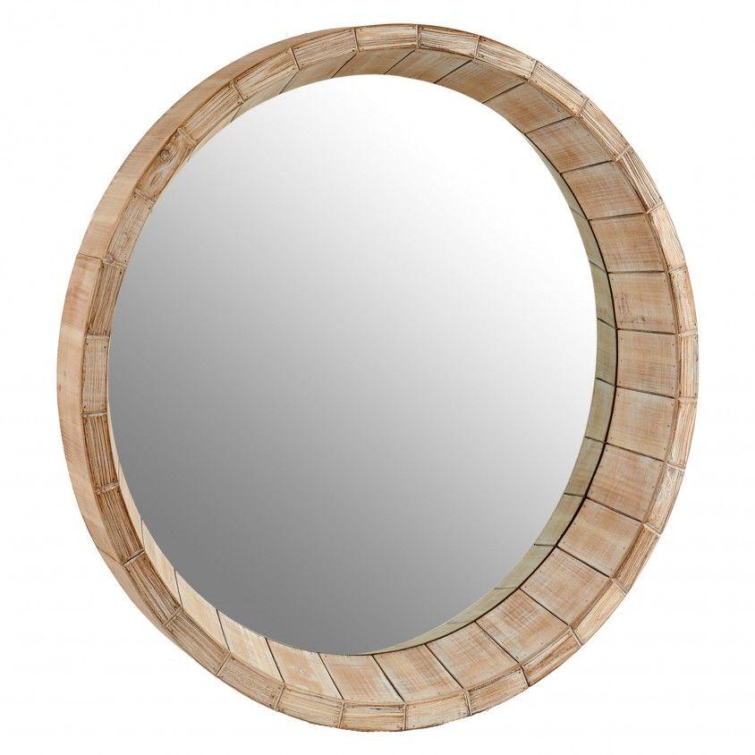 Espelho Madeira Moldura Profunda