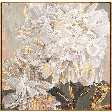 Quadro Flores Brancas