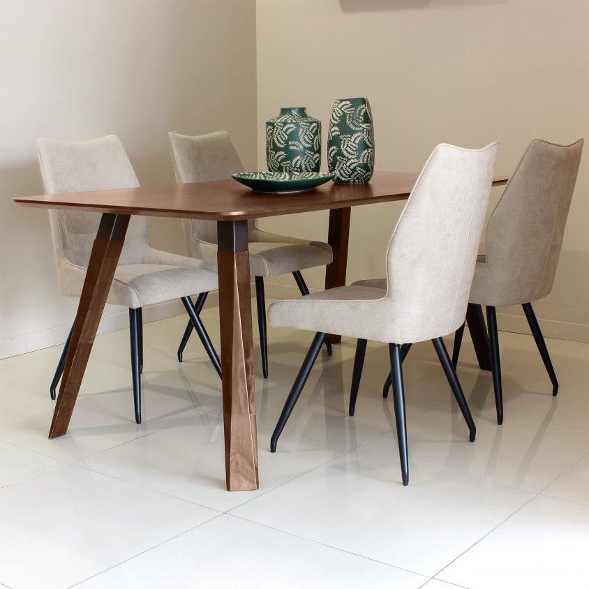 Mesa Nancy Carvalho com 4 Cadeiras Pescara