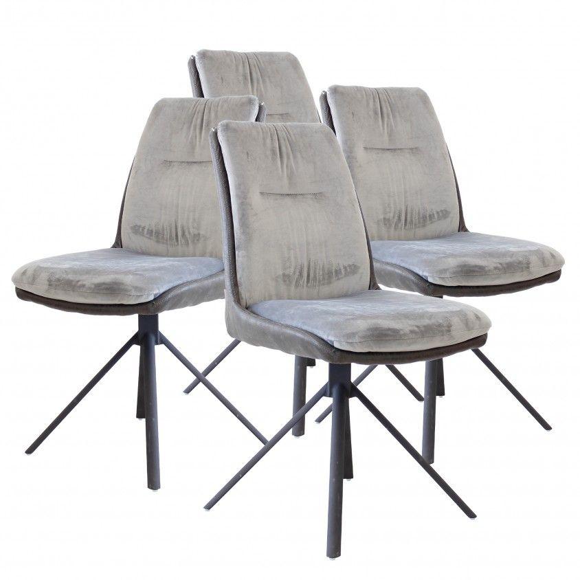 Conjunto 4 Cadeiras Monza