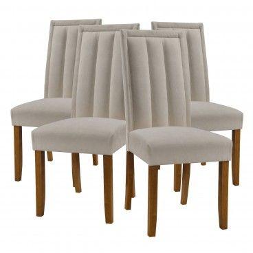Conjunto 4 Cadeiras Novara