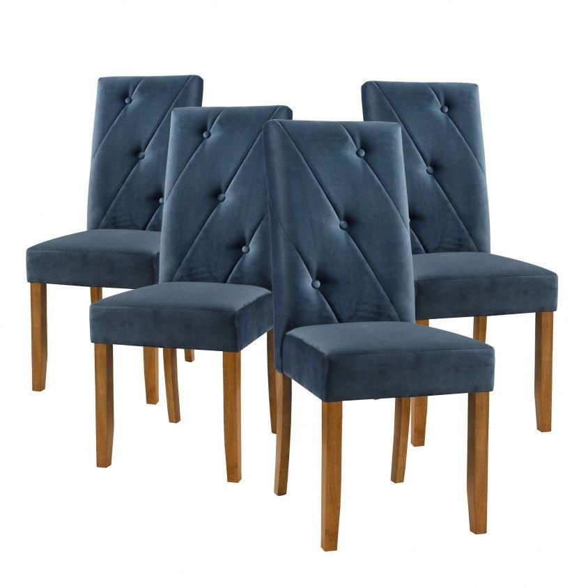Conjunto 4 Cadeiras Trevi