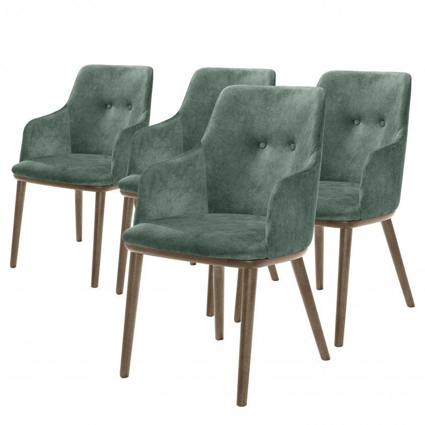 Conjunto 4 Cadeiras Modena