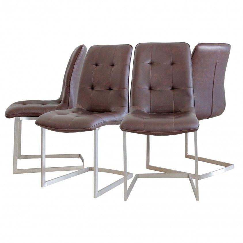 Conjunto 4 Cadeiras Capri